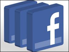 El logo de Facebook