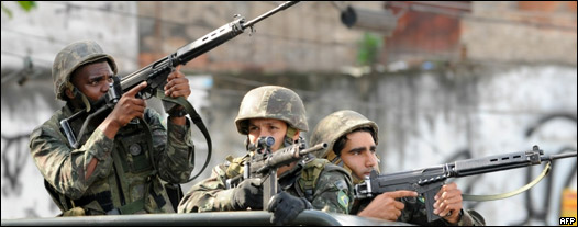 Fuerzas militares de Brasil