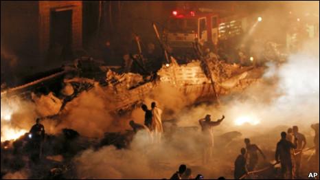 Авиакатастрофа ИЛ-76 в Пакистане фото