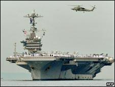 """美国""""乔治·华盛顿""""号航空母舰(04/09/2010)"""