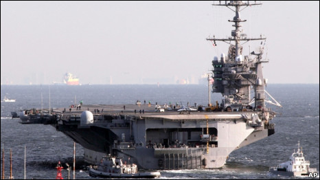 Hàng không mẫu hạm USS Washington của Hoa Kỳ