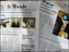 Le Monde, uno de los diarios que accedió a la filtración de Wikileaks