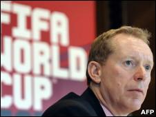 英格兰2018世界杯申办团负责人安森