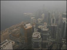 香港空气污染严重