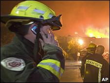 Пожарные в Израиле