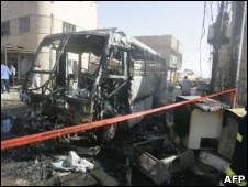 اتوبوس زائران ایرانی در عراق