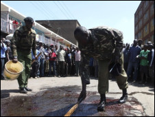 احداث عنف سابقة في كينيا