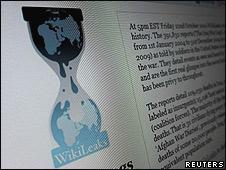 Web de WikiLeaks