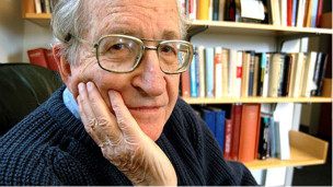 El activista político y lingüista estadounidense Noam Chomsky