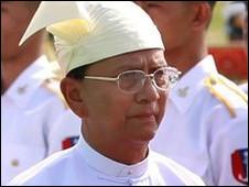 تین سین نخست وزیر برمه - رویترز