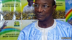 Alpha Condé, lle nouveau président guinéen