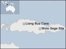 Lokasi gua Liang Bua