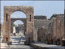 Calle en Pompeya