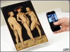 """""""Las Tres Gracias"""", de Lucas Cranach"""