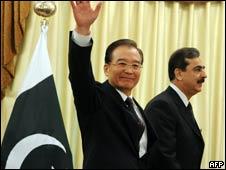 温家宝和巴基斯坦总理吉拉尼(17/12/2010)