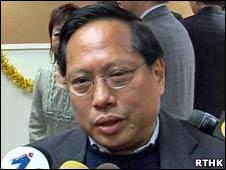 香港民主党主席何俊仁(18/12/2010)