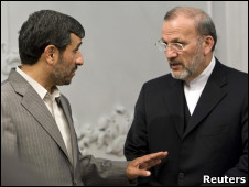 منوچهر متکی و احمدی نژاد