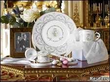 威廉王子结婚纪念瓷器
