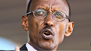Rais wa Rwanda Paul Kagame