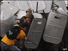 Protestas tras el golpe de Estado en junio de 2009 (foto de  archivo)