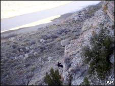 Cañón de esquisto en Colorado, EE.UU.