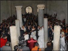 Boda en iglesia de Myra (Foto: WeddingCityAntalya).