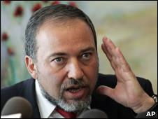 Avigdor Liberman, chanceler de Israel