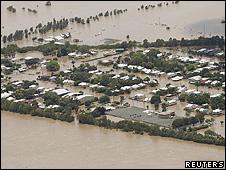 澳大利亚昆士兰水灾