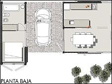 Imagen del tipo de casas proyectadas por PrarX
