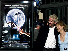Cartel de la película E.T. (imagen de archivo)