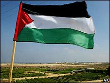 Bandera palestina.