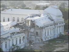 Palácio presidencial no Haiti