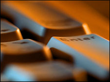 Teclas en un teclado