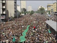 تظاهرات اعتراضی مردم