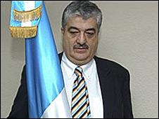 Carlos Vielman, ex ministro del Interior de Guatemala.