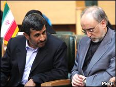 صالحی و احمدی نژاد