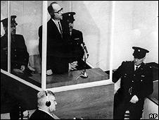Adolf Eichman en el juicio