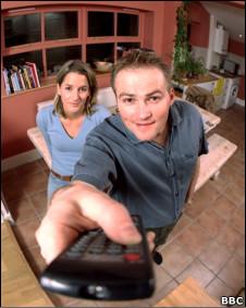 Foto de série da BBC de 2003, sobre hábitos do parceiro que irritam os casais