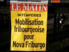 Jornal em Fribourg