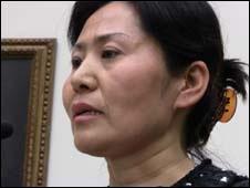 中国维权律师高智晟的妻子耿和
