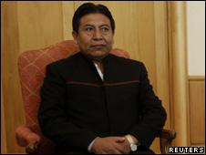 El canciller de Bolivia, David Choquehuanca
