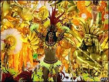 Imagen de archivo del Carnaval de Río de Janeiro