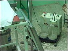 Máquina de aspiración para regulaciones menstruales