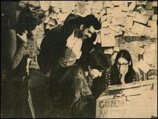 Red social en los 70