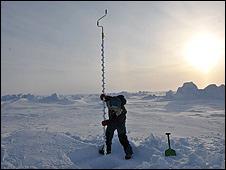 Hielo ártico (foto: Martin Hartley)