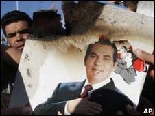 Mantan presiden Tunisia, Ben Ali