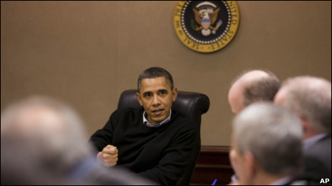 اوباما و مشاورانش