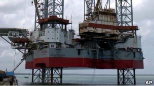 中海油采油平台