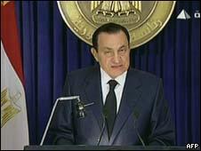 Mubarak/AFP