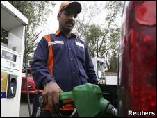 پمپ بنزین در هند
